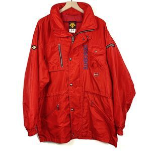 Descente Men's Red Ski/Snowboard Jacket Size L